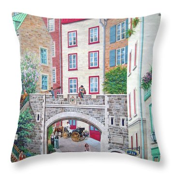 Throw Pillow featuring the photograph Time ... by Juergen Weiss