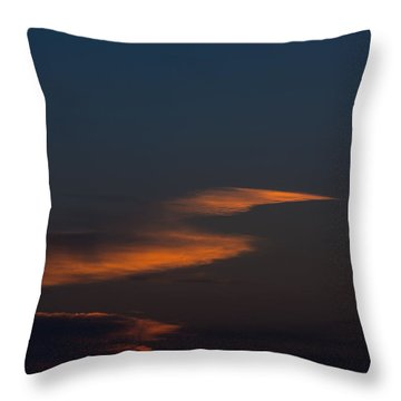 To The Moon Throw Pillow by Don Spenner