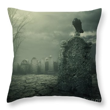 Tombstone Throw Pillow