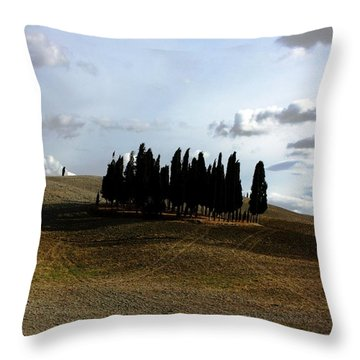Throw Pillow featuring the photograph Toscana by Pat Purdy