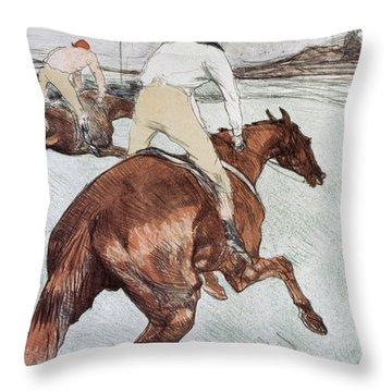 Toulouse-lautrec, 1899 Throw Pillow by Granger
