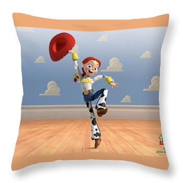 Toy Story 3 Throw Pillow