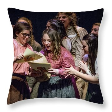 Tpa013 Throw Pillow
