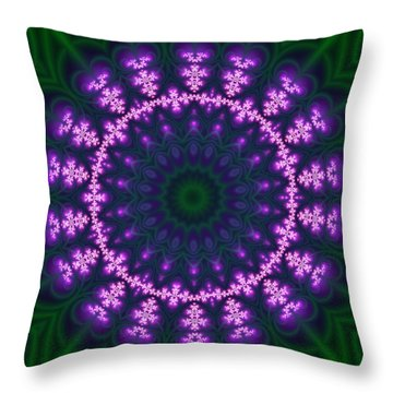 Transition Flower  Throw Pillow
