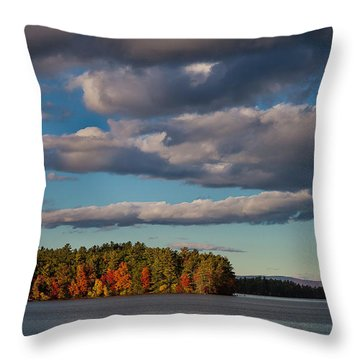 Trapp's Point Throw Pillow