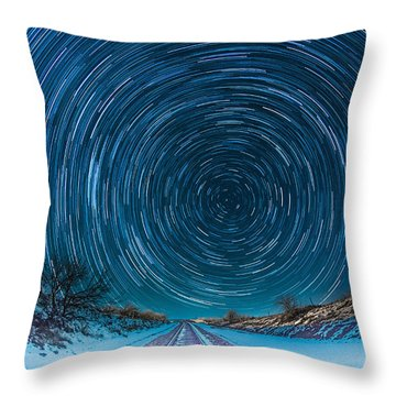 Travel North  Throw Pillow