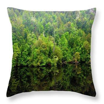 Tree Breath Throw Pillow