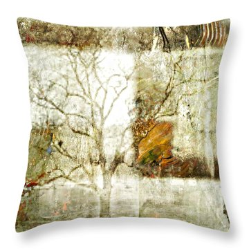 Tree Deconstructed 2 Throw Pillow