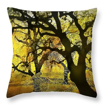 Tree Deconstructed 5 Throw Pillow
