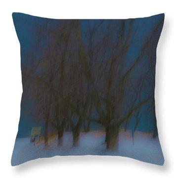 Tree Dreams Throw Pillow