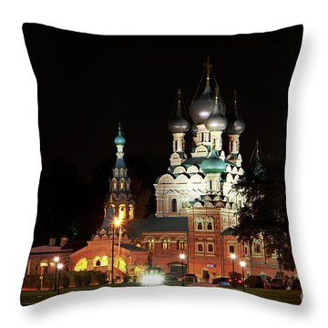 Trinity Church Throw Pillow
