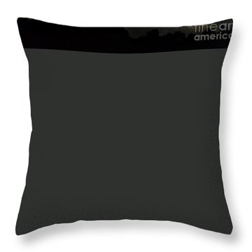 Trona Pinnacles Milky Way Throw Pillow