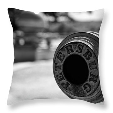 Trophy Point Cannon  Throw Pillow