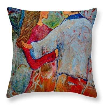 Trusting You Throw Pillow
