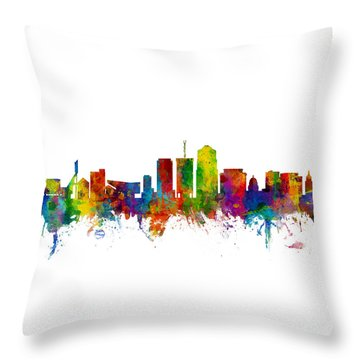 University Of Arizona Throw Pillows
