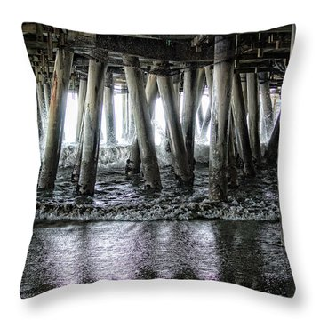 Under The Pier 2 Throw Pillow