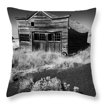 Under The Weight Of It All Throw Pillow