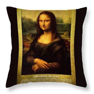 Mona Lisa Throw Pillows