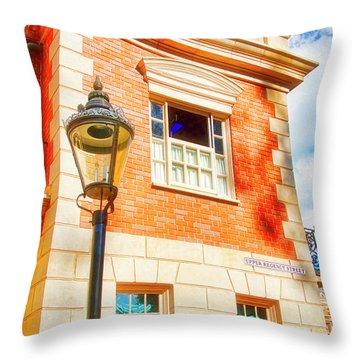 United Kingdom Pavilion, Epcot, Walt Disney World Throw Pillow