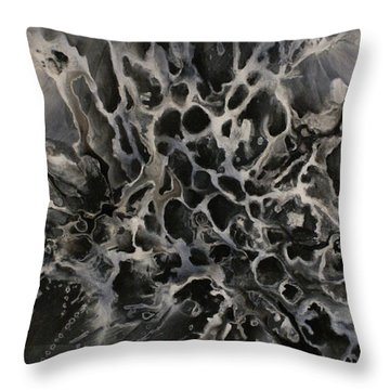 Untitled 1 Throw Pillow by Michael Lang