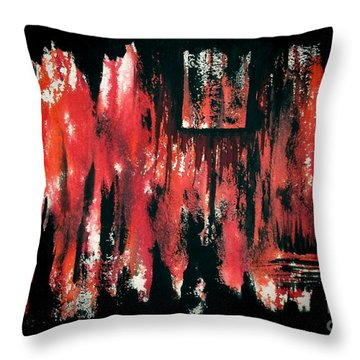 Untitled-102 Throw Pillow