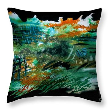 Untitled-104 Throw Pillow