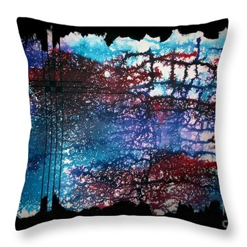 Untitled-109 Throw Pillow