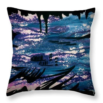 Untitled-128 Throw Pillow