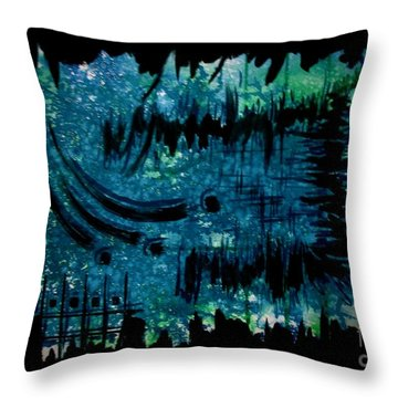 Untitled-98 Throw Pillow