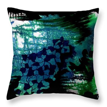 Untitled-94 Throw Pillow