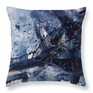 Untitled Abstraction Throw Pillow