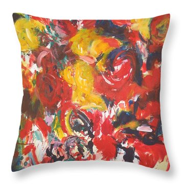 Untitled Composition IIII Throw Pillow