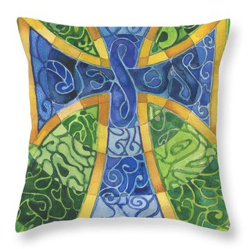 Untitled Throw Pillow by Mark Jennings