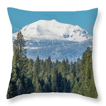 Up To The Mountain Throw Pillow