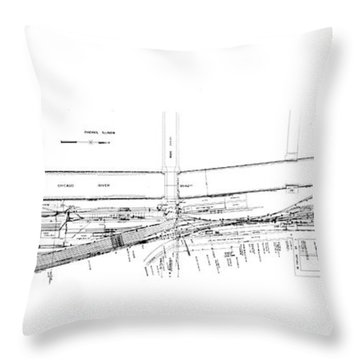 Valuation Map Boct Throw Pillow