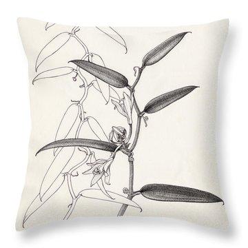 Vanilla Throw Pillow
