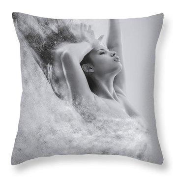 Vanishing Throw Pillow