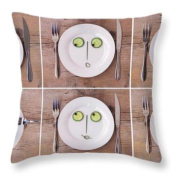 Expression Throw Pillows