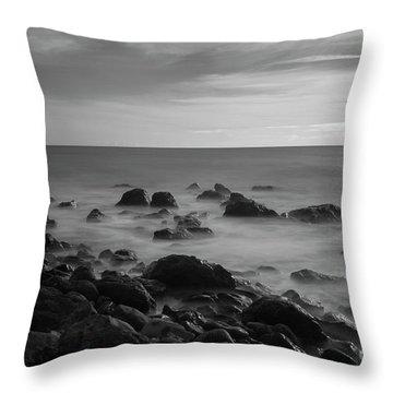 Ventnor Coast Throw Pillow