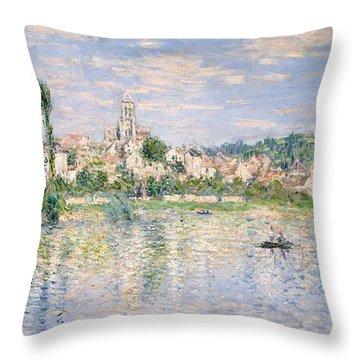 Vetheuil In Summer, 1880 Throw Pillow