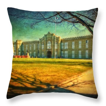 Cadets Throw Pillows