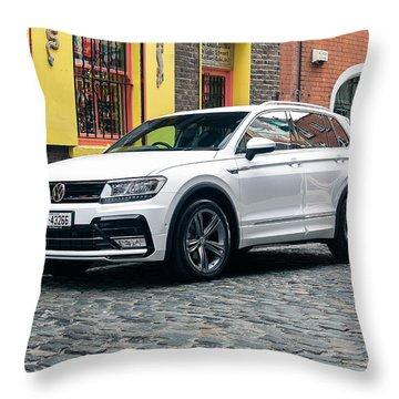 Volkswagen Tiguan Throw Pillow