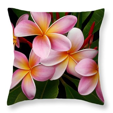 Wailua Sweet Love Throw Pillow