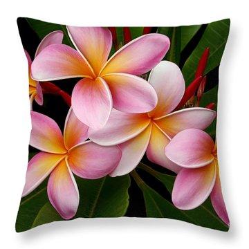Wailua Sweet Love Throw Pillow