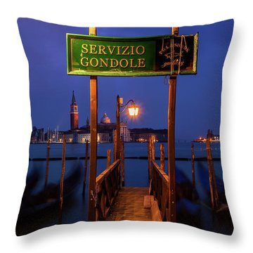 Throw Pillow featuring the photograph Waiting For Dawn by Andrew Soundarajan