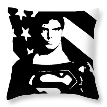 Waiting For Superman Throw Pillow