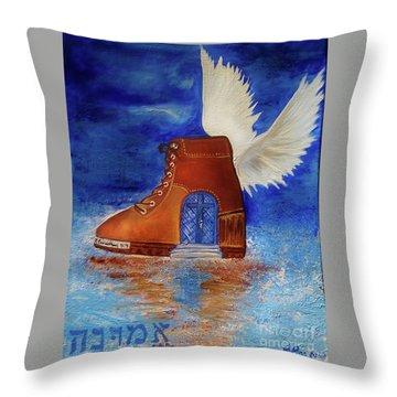 Walk By Faith Throw Pillow