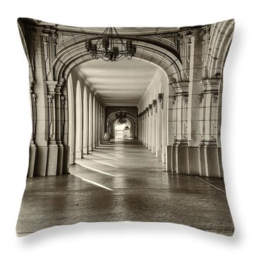 A Nice Stroll Throw Pillow