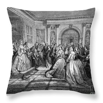 Washington Reception Throw Pillow by Granger
