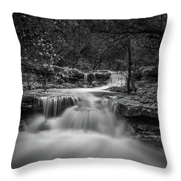 Waterfall In Austin Texas Throw Pillow